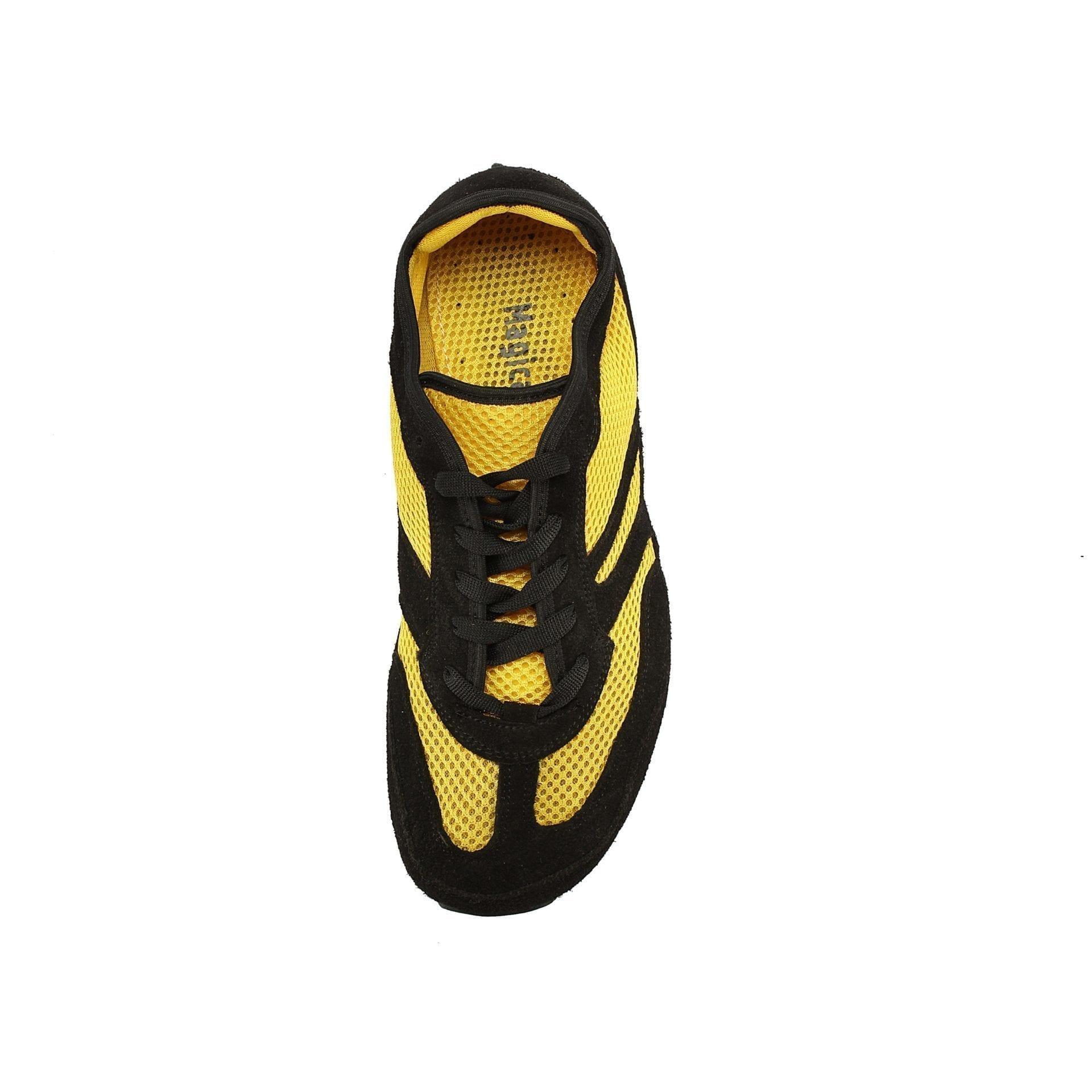 Barfußschuh-Hersteller Magical Shoes Explorer Lemon Splash  Barfußschuhe für natürliches und gesund des Gehen & Laufen  breite Zehenbox
