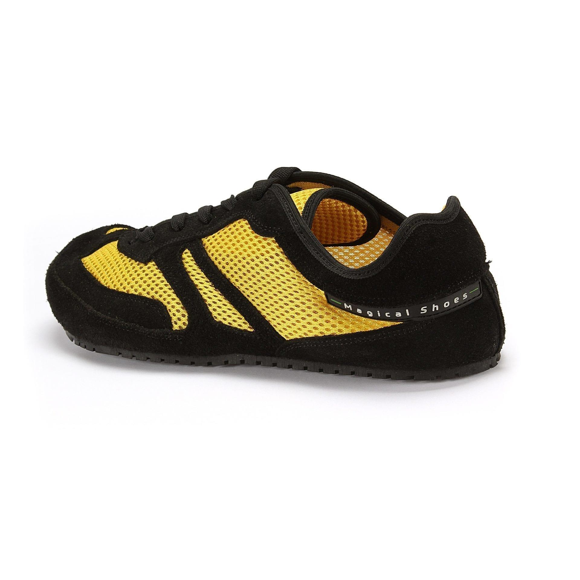 Barfußschuh-Hersteller Magical Shoes Explorer Lemon Splash  Barfußschuhe für natürliches und gesundes Gehen & Laufen zero drop
