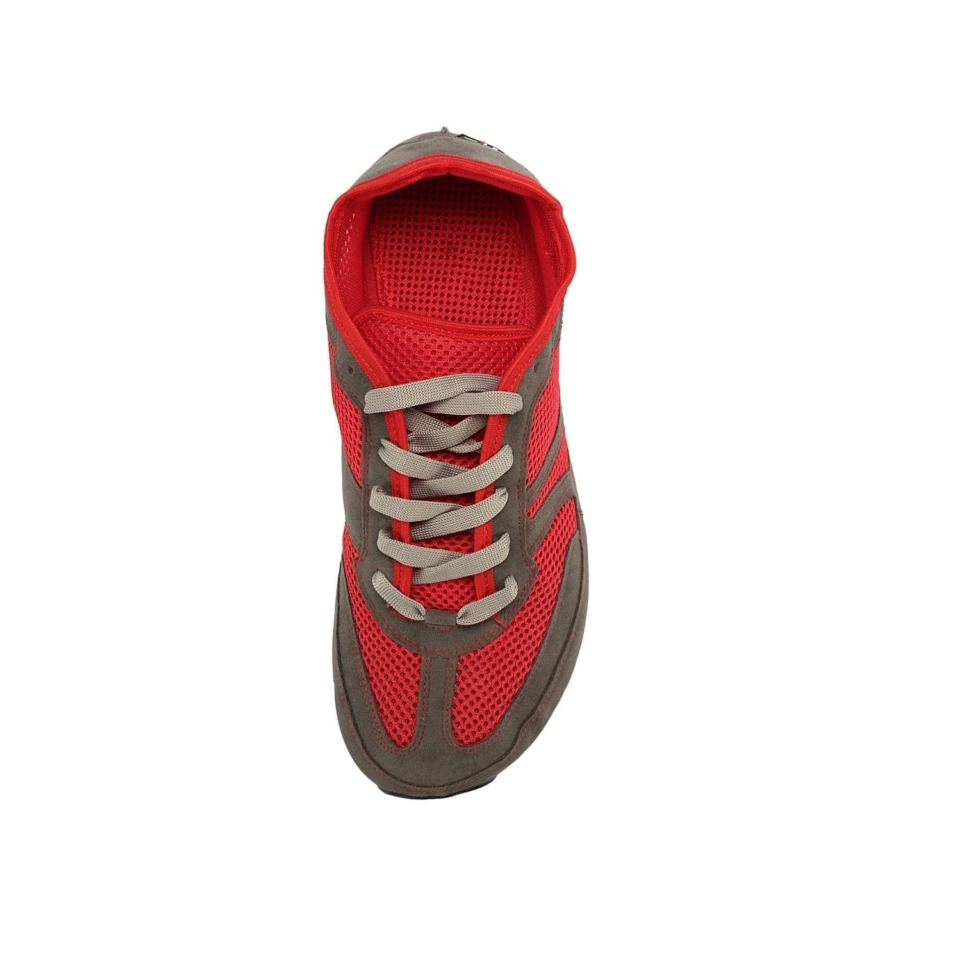 Barfußschuh-Hersteller Magical Shoes Vegan Red Barfußschuhe für natürliches und gesundes Gehen & Laufen  breite Zehenbox