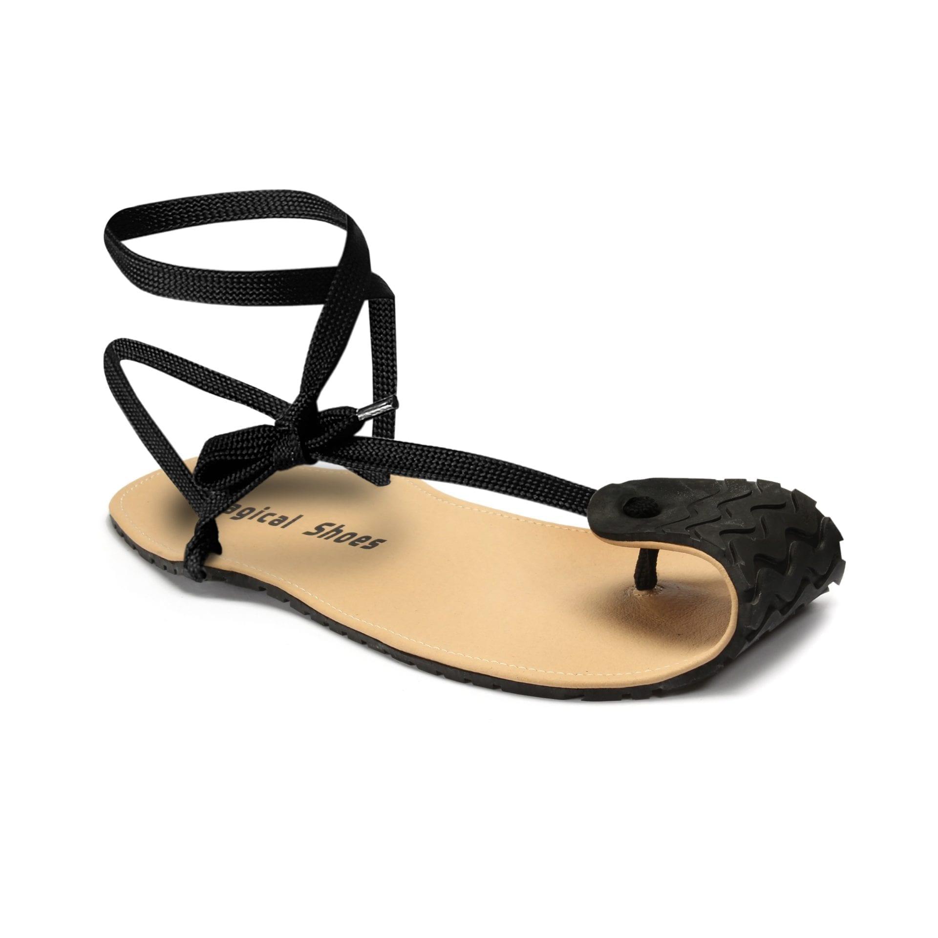 Barfußsandale Renn-Sandale hurache Barfußschuh-Hersteller Magical Shoes Caballo Blanco