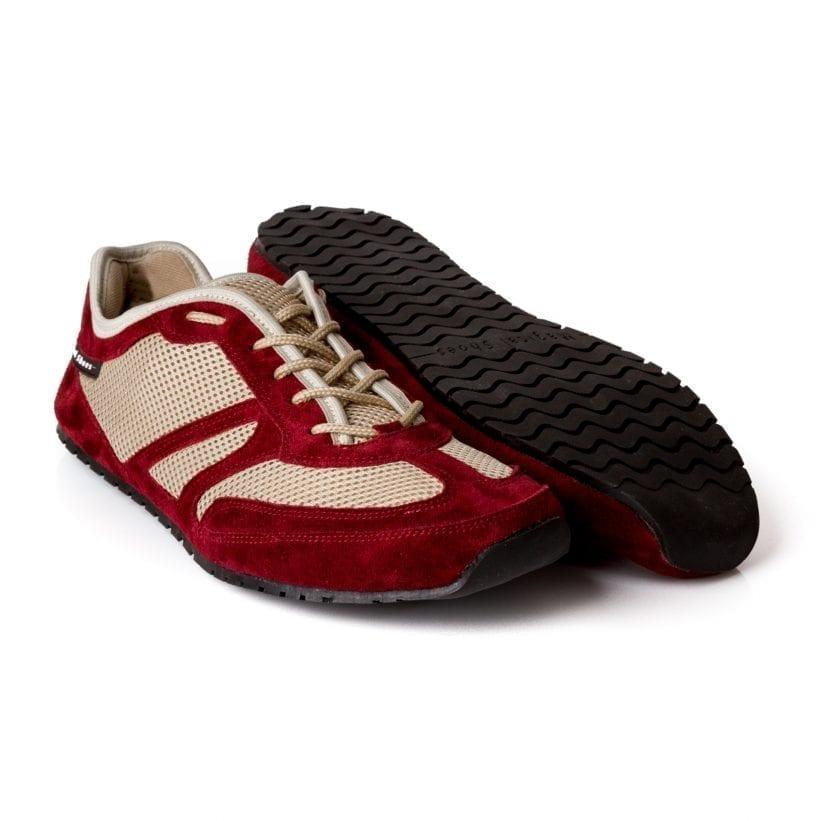Barfußschuh-Hersteller Magical Shoes Explorer Fruity Claret  Barfußschuhe für natürliches und gesundes Gehen & Laufen