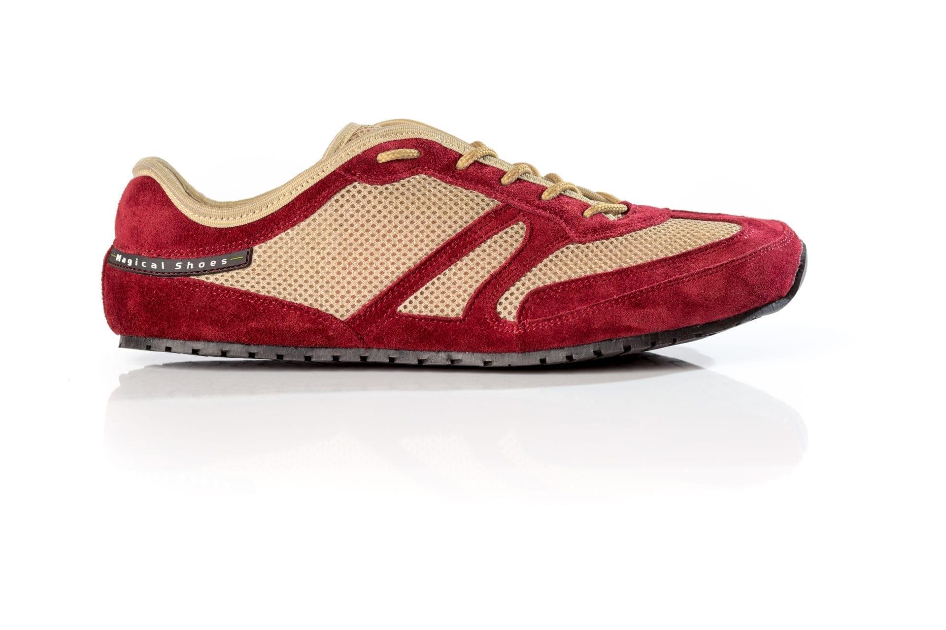Barfußschuh-Hersteller Magical Shoes Explorer Fruity Claret  Barfußschuhe für natürliches und gesundes Gehen & Laufen zero dorp