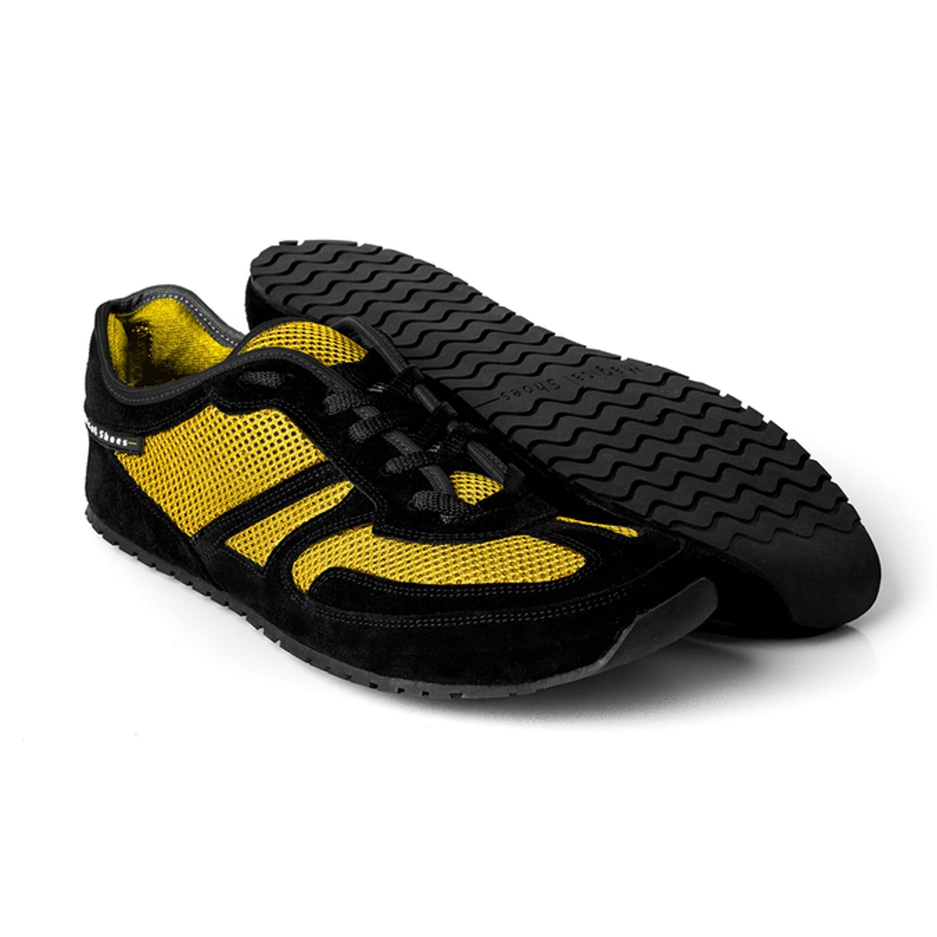 Barfußschuh-Hersteller Magical Shoes Explorer Lemon Splash  Barfußschuhe für natürliches und gesundes Gehen & Laufen