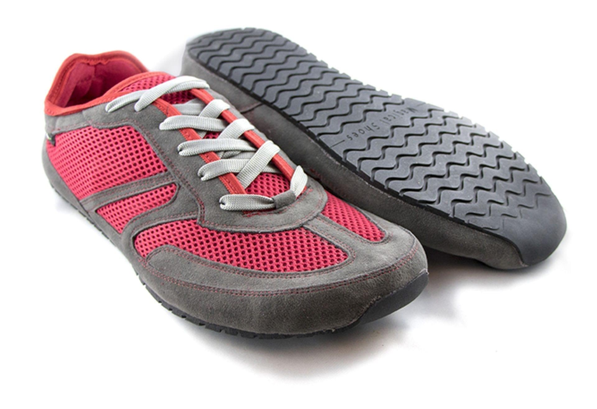 Buty do biegania boso minimalistyczne Magical Shoes Explorer Vegan Red