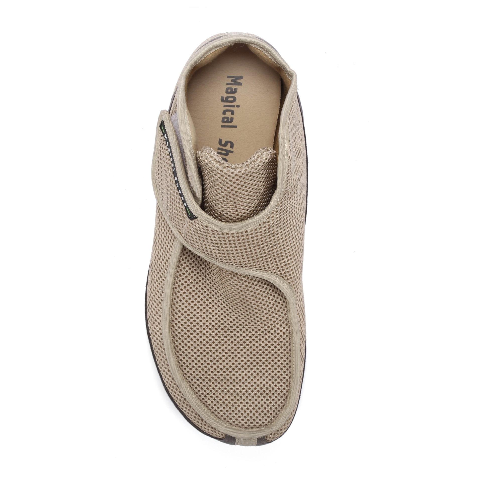 Barfußschuh-Hersteller Magical Shoes Recovery Beige Barfußschuhe für natürliches und gesundes Gehen & Laufen breite Zehenbox