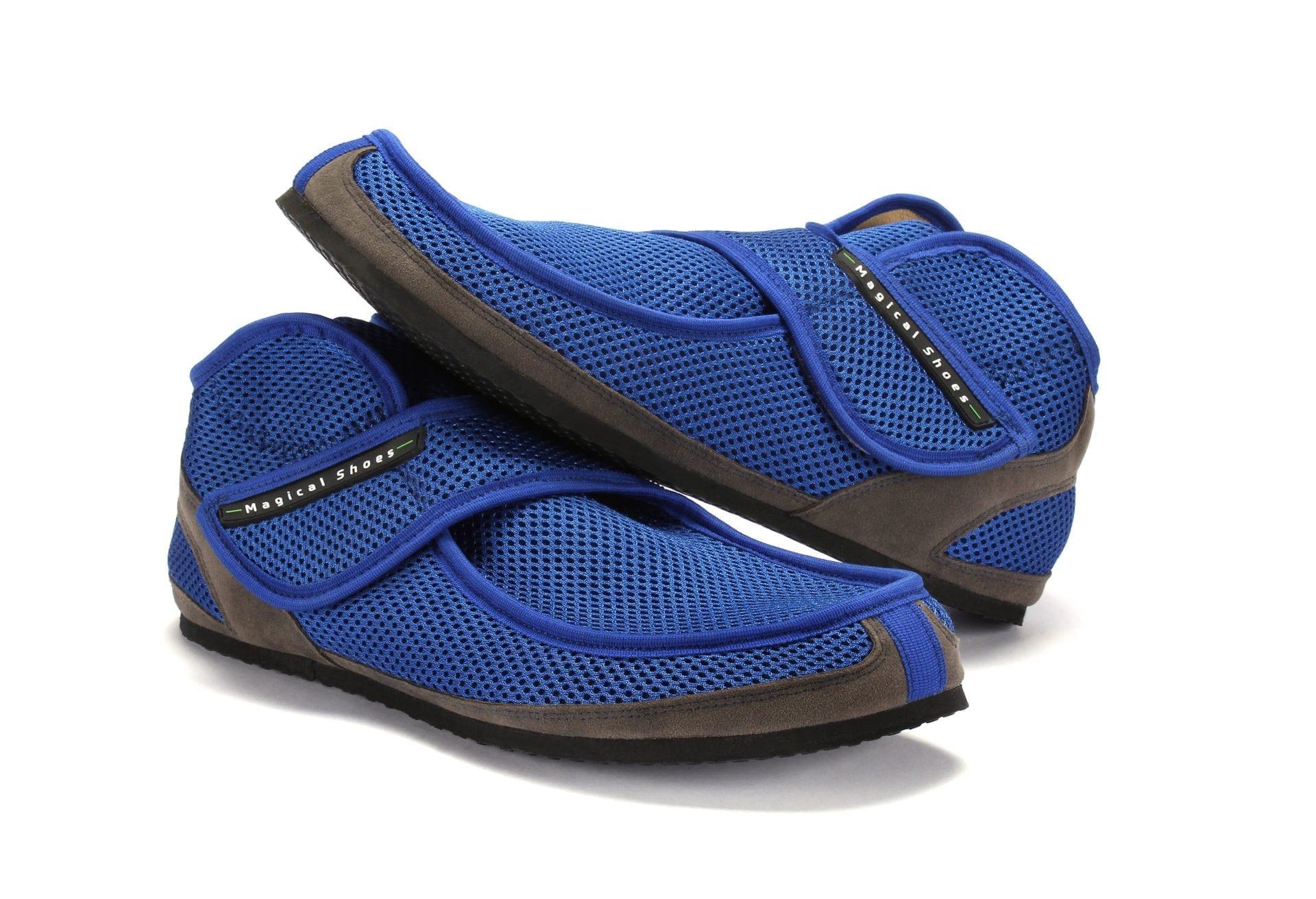 paměťová pěna pohodlné boty se suchým zipem prodyšné lehké boty boty pro nemocné nohy zdravé nohy široké boty