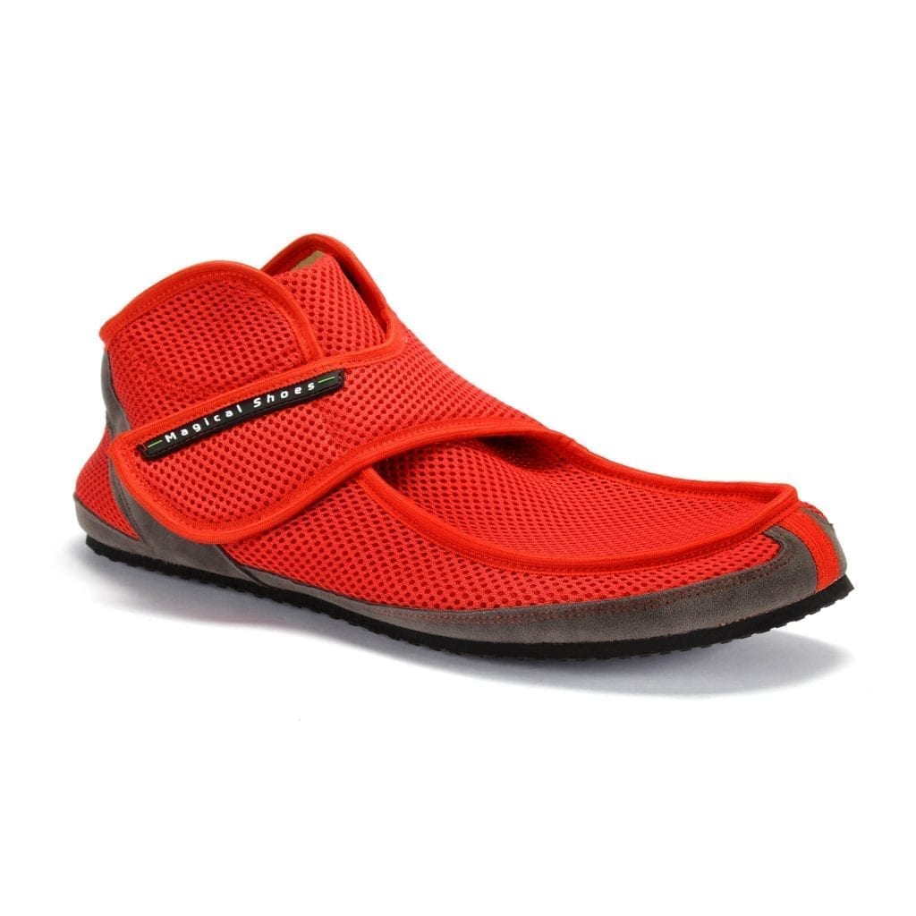 Barfußschuh-Hersteller Magical Shoes Recovery Red Barfußschuhe für natürliches und gesundes Gehen & Laufen