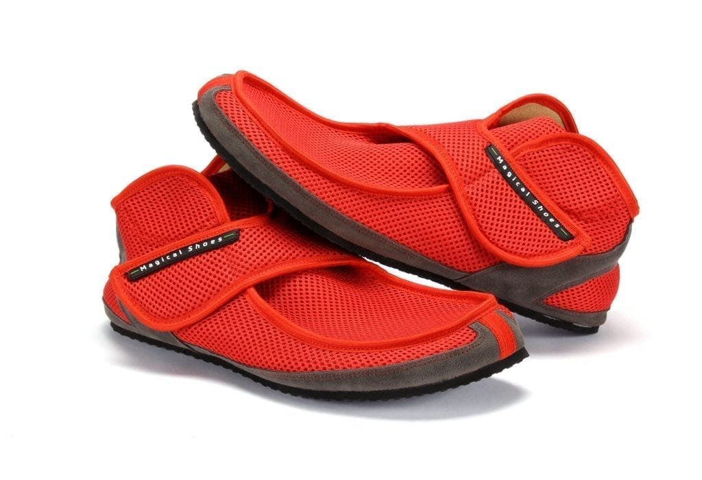 Barfußschuh-Hersteller Magical Shoes Recovery Red Barfußschuhe für natürliches und gesundes Gehen & Laufen leicht
