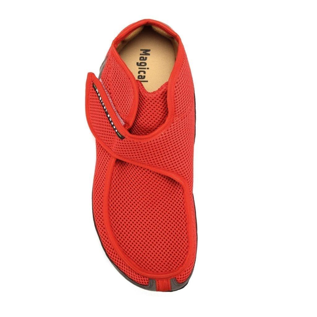 Barfußschuh-Hersteller Magical Shoes Recovery Red Barfußschuhe für natürliches und gesundes Gehen & Laufen breite Zehenbox