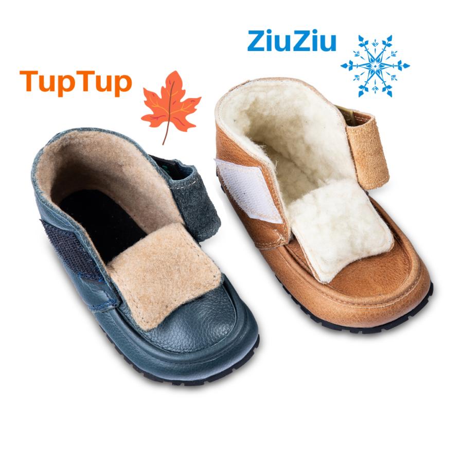 jesienne i zimowe buty barefoot dla dziecka ZiuZiu i TupTup