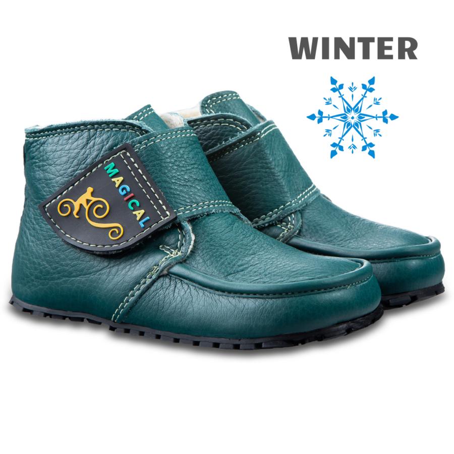 Winter barefoot kid's boots - Magical Shoes ZiuZiu