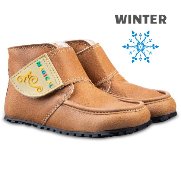 Barefoot winter kid's shoes - Magical Shoes ZiuZiu