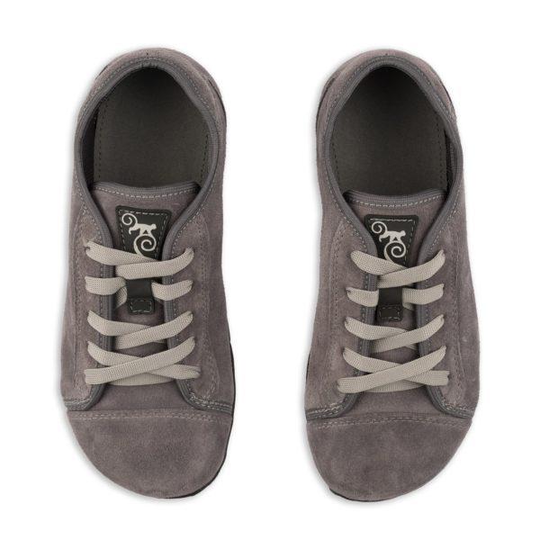 Magical Shoes - Buty minimalistyczne barefoot - Promenade Grey Suede