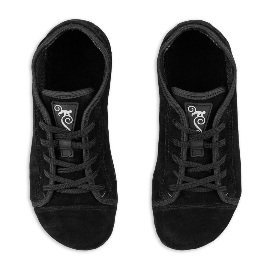 Poslkie buty minimalistyczne - Magical Shoes Promenade Black Suede