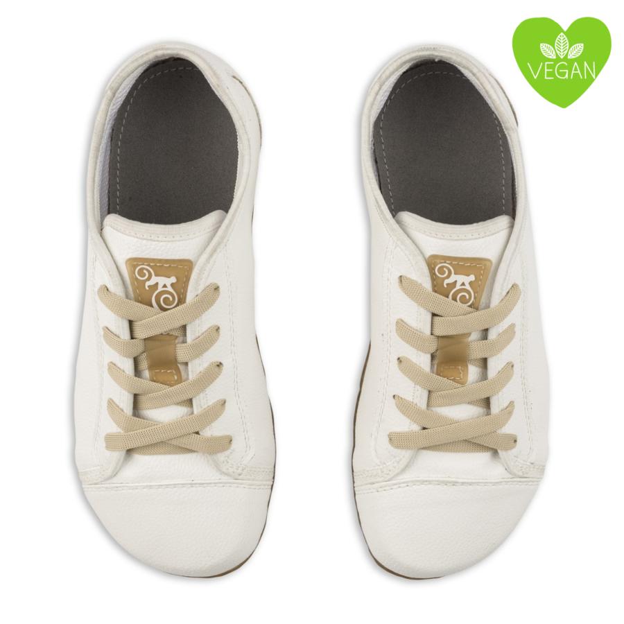 białe buty minimalistyczne, wegańskie - Magical Shoes Promenade White Vegan