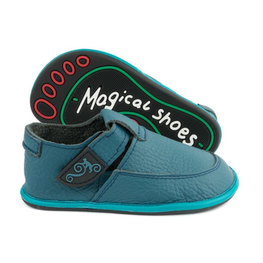 zdrowe, skórzane buty dziecięce