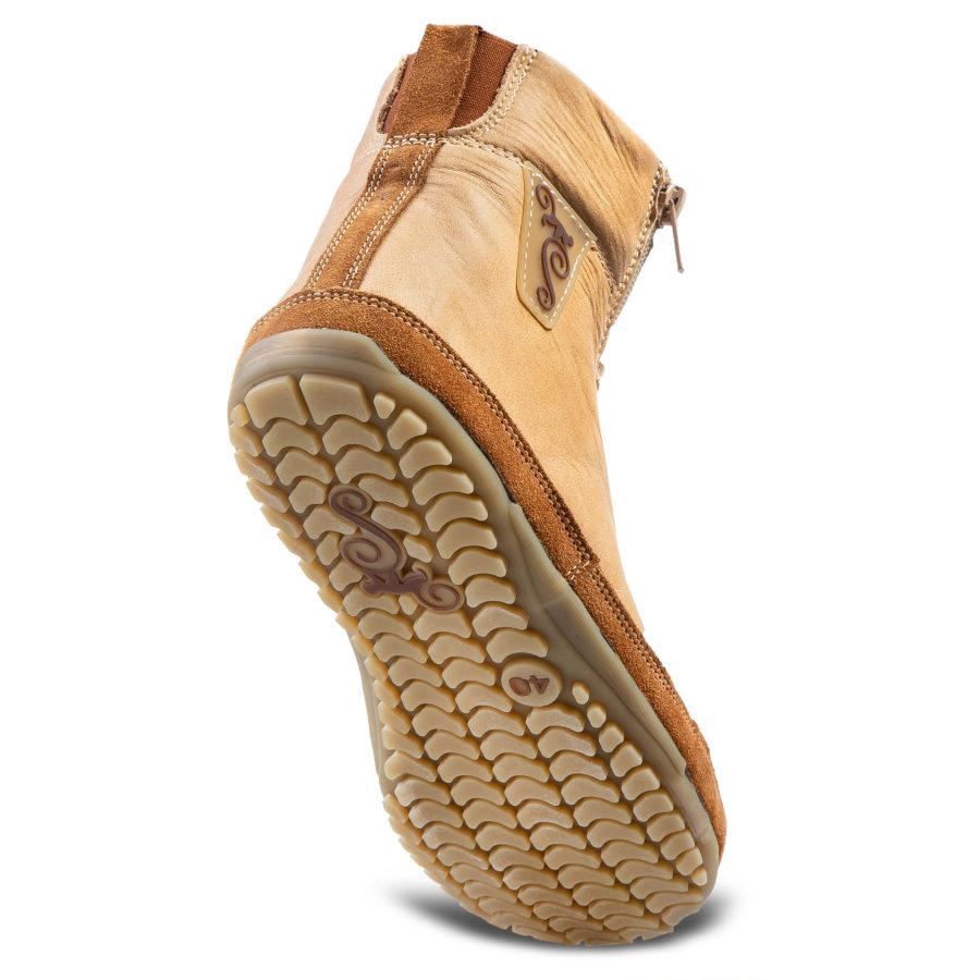 Wygodne buty barefoot na zimę - Magcial Shoes Alaskan Buffalo Palomino