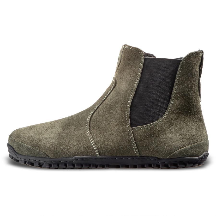 Modne botki minimalistyczne na jesień - Magical Shoes LUPINO Green