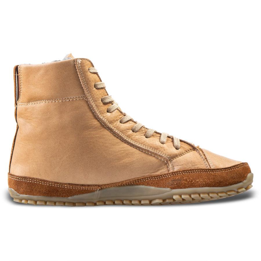 Skórzane buty minimalistyczne na zimę - Magical Shoes Alaskan Buffalo Palomino