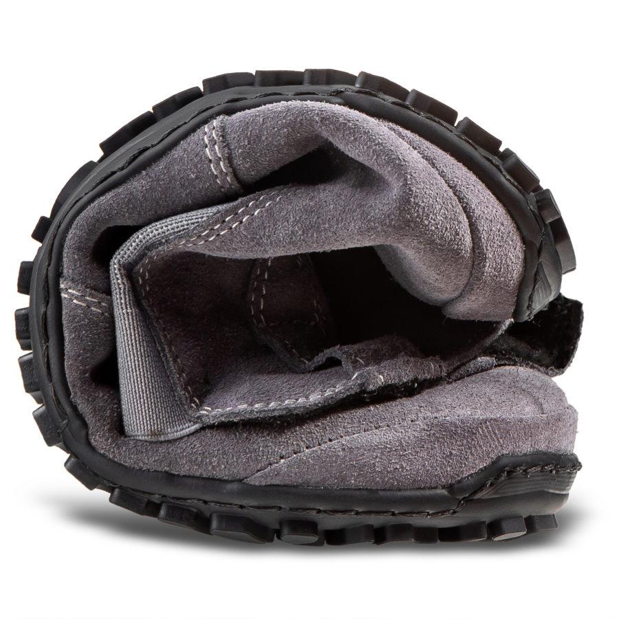 Elastyczne buty barefoot na jesień - Magcial Shoes LUPINO Gray