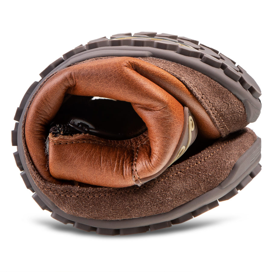 Najbardziej elastyczne zimowe buty minimalistyczne - Magical Shoes Alaskan Buffalo Chestnut