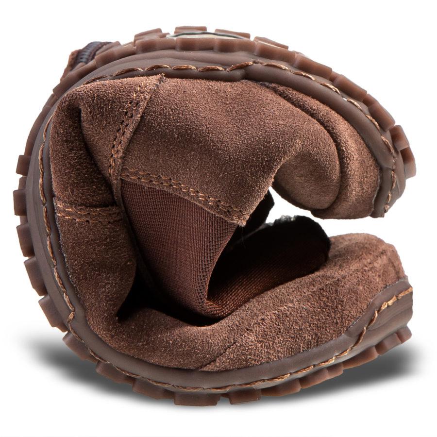 Elastyczne buty minimalistyczne na jesień - LUPINO Brown