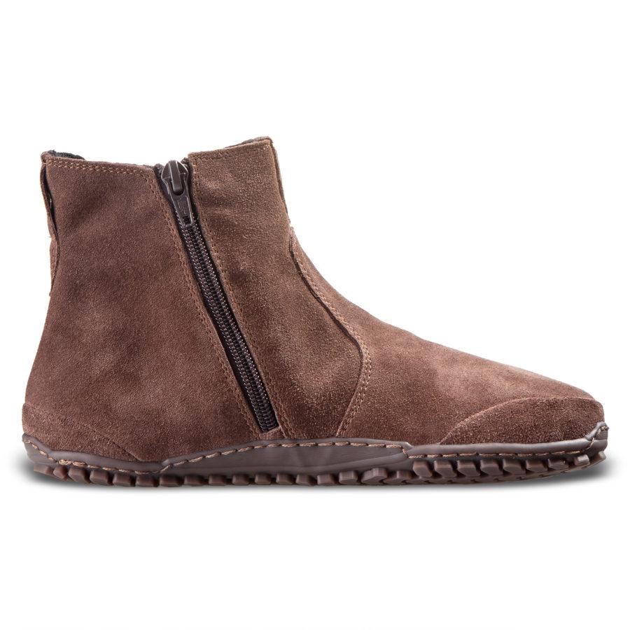 Wygodne buty minmalistyczne na jesień - LUPINO Brown