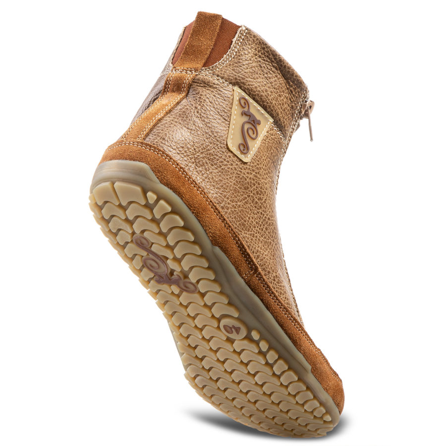 Buty minimalistyczne na zimę - Magcial Shoes Alaskan Buffalo Dun