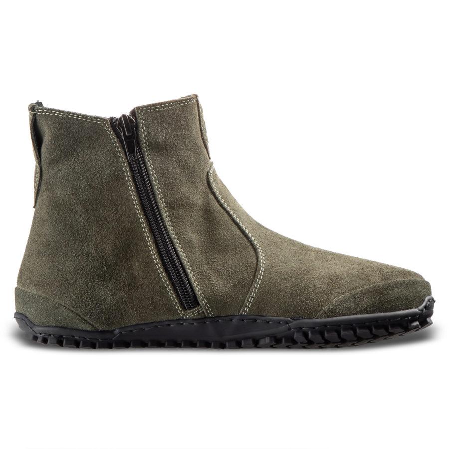 Buty minimalistyczne zero drop do chodzenia - Magical Shoes LUPINO Green