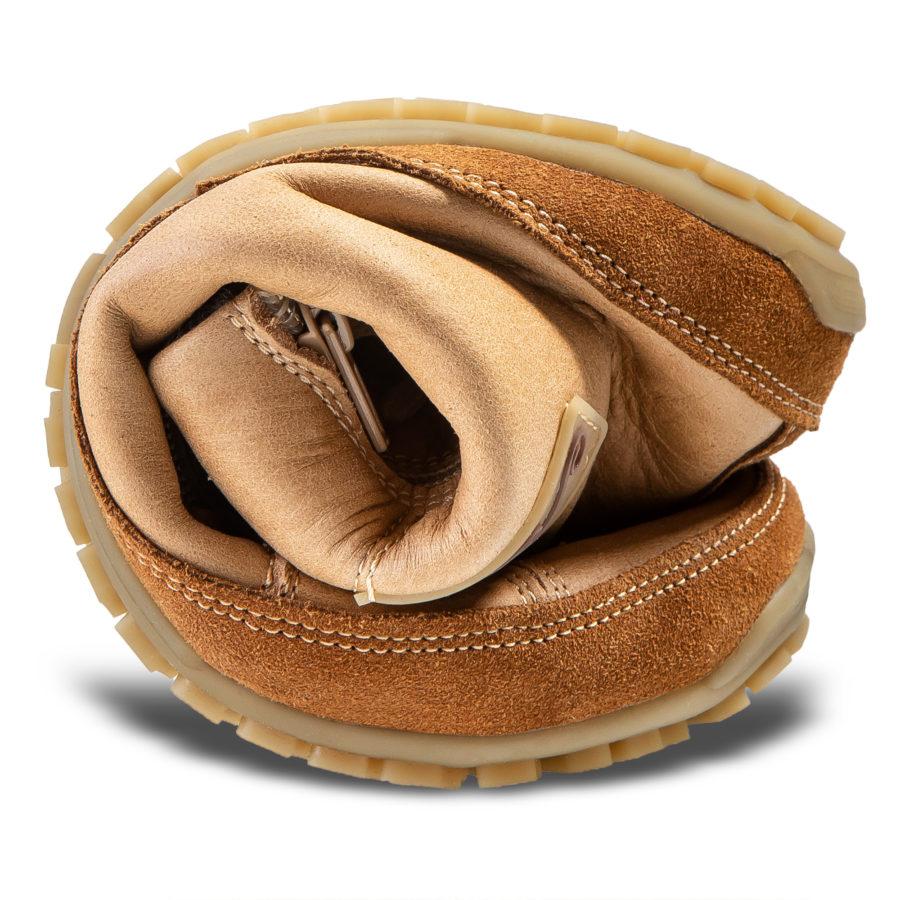 Najbardziej elastyczne skórzane buty minimalistyczne - Magical Shoes Alaskan Palomino