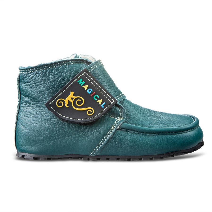 Handmade winter barefoot boots for children - Magical Shoes ZiuZiu