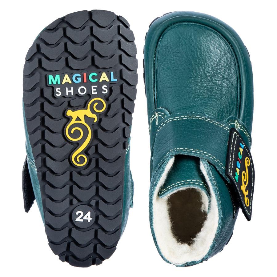 Healthy winter barefoot boots for children - Magical Shoes ZiuZiu