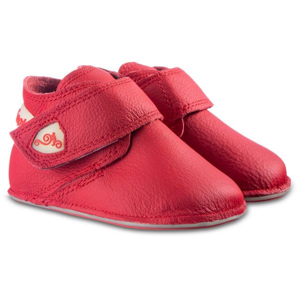 Czerwone buty dziecięce - Magical Shoes Baloo RED