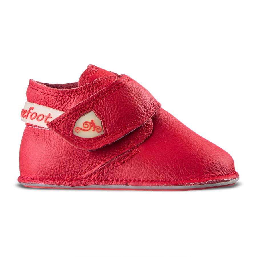 Zdrowe buciki dla dziewczynki - Magical Shoes Baloo RED