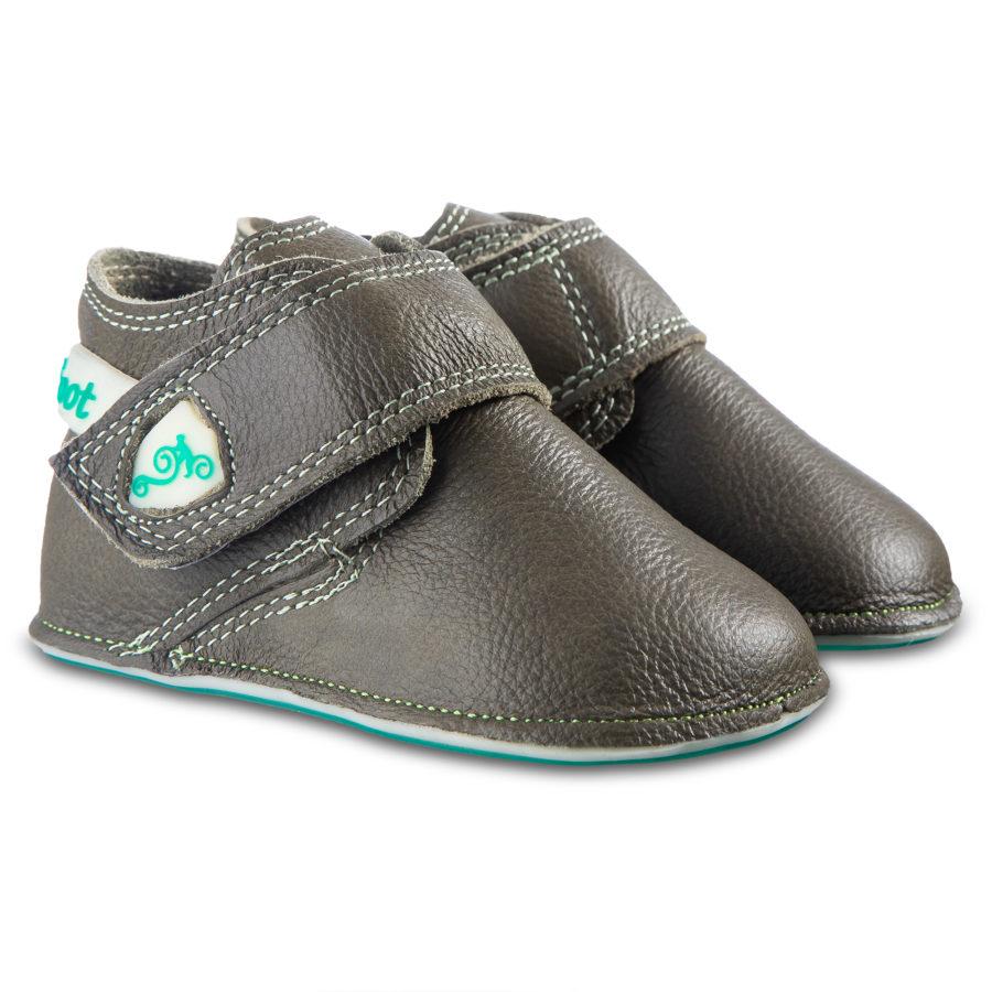 Chłopięce buciki do nauki chodzenia - Magical Shoes Baloo Khaki