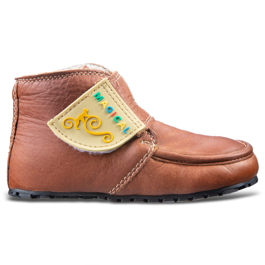Bequeme Winter-Barfußstiefel für Kinder - Magical Shoes ZiuZiu