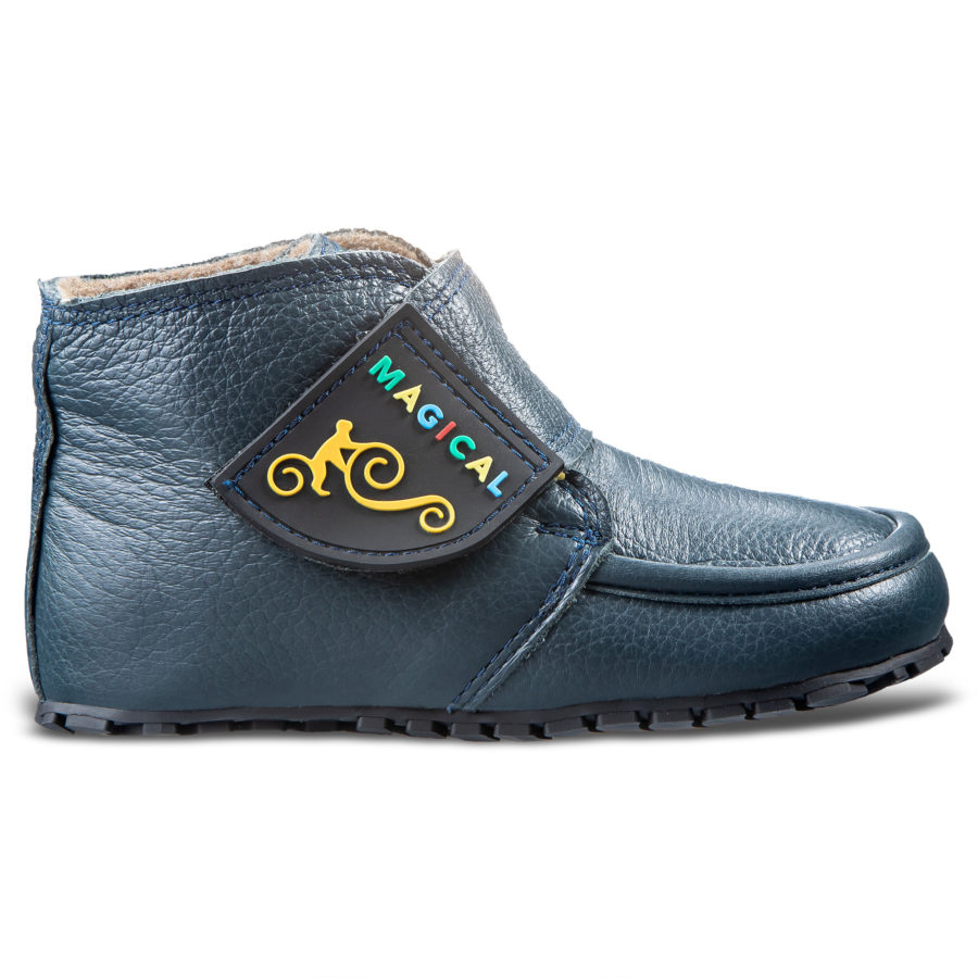 Comfortable children's Velcro barefoot boots - Magical Shoes TupTup