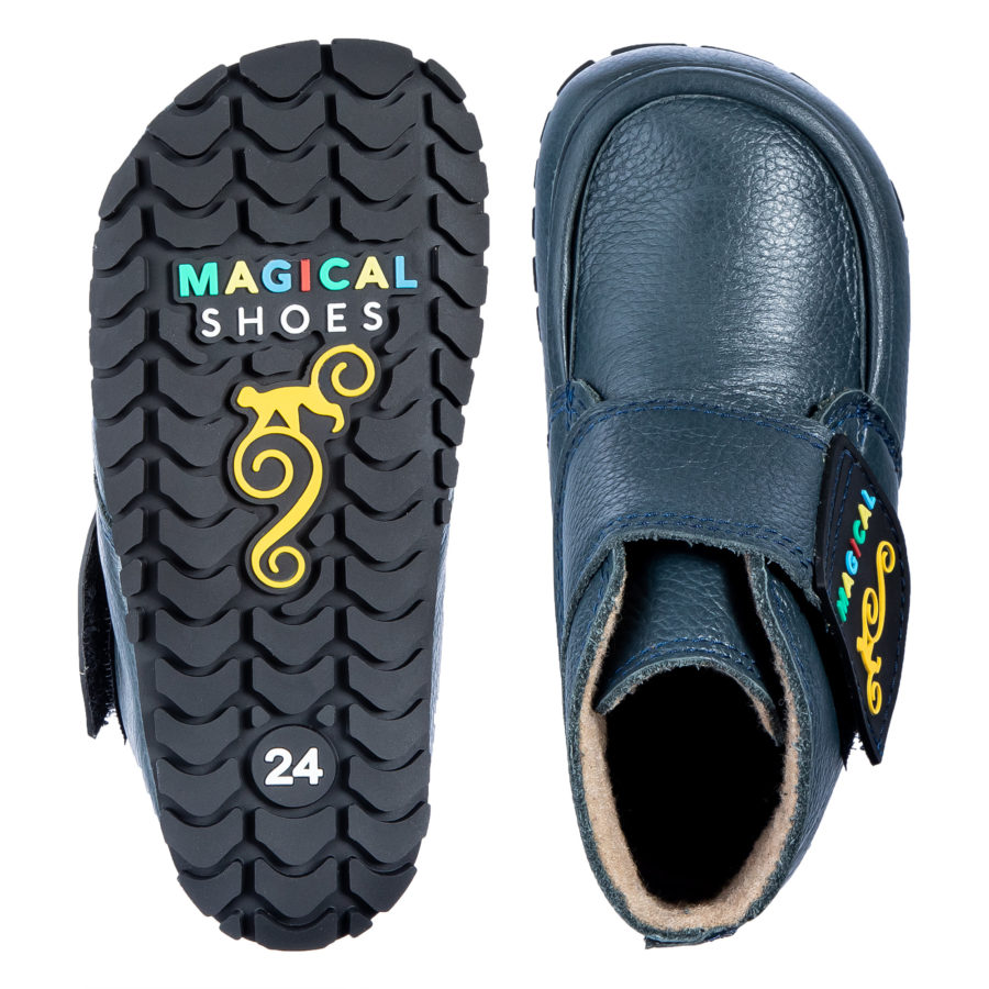 Wide toe box autumn barefoot shoes for children - Magcial Shoes TupTup