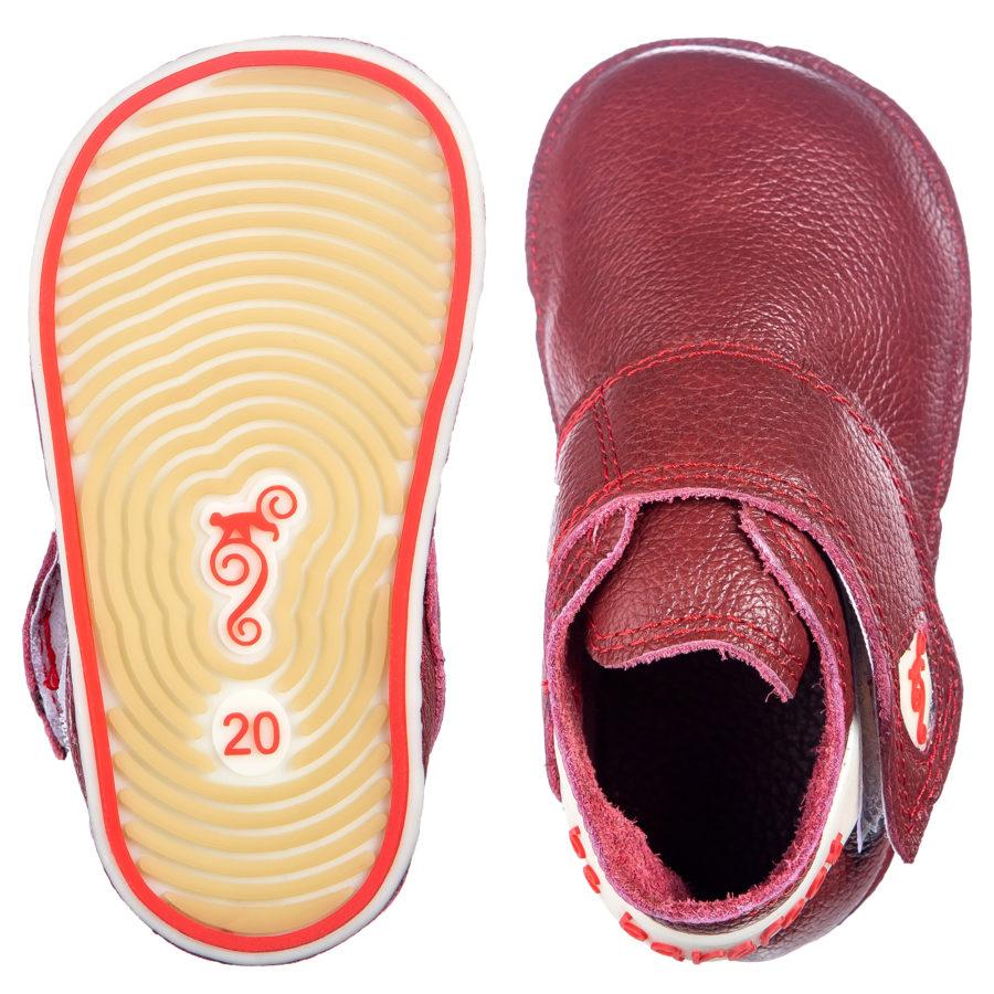 Kapcie dziecięce z gumową podeszwą - barefoot - Magical Shoes Baloo
