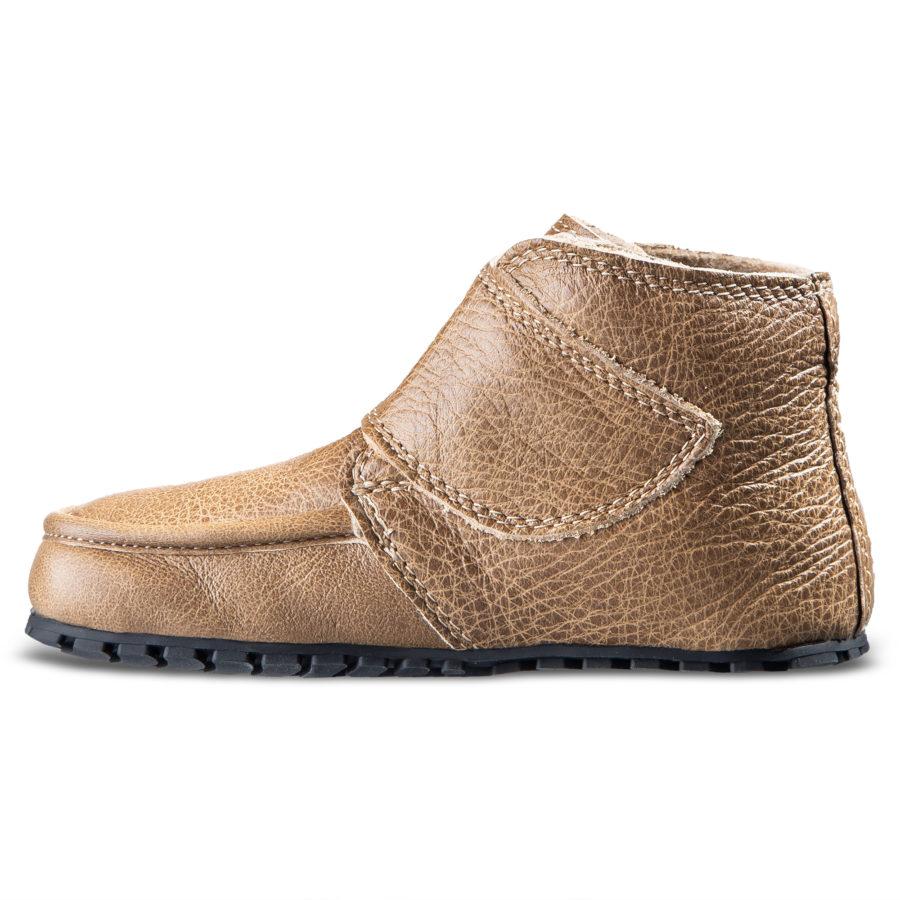 Płaskie skórzane buty dziecięce - Magcial Shoes TupTup