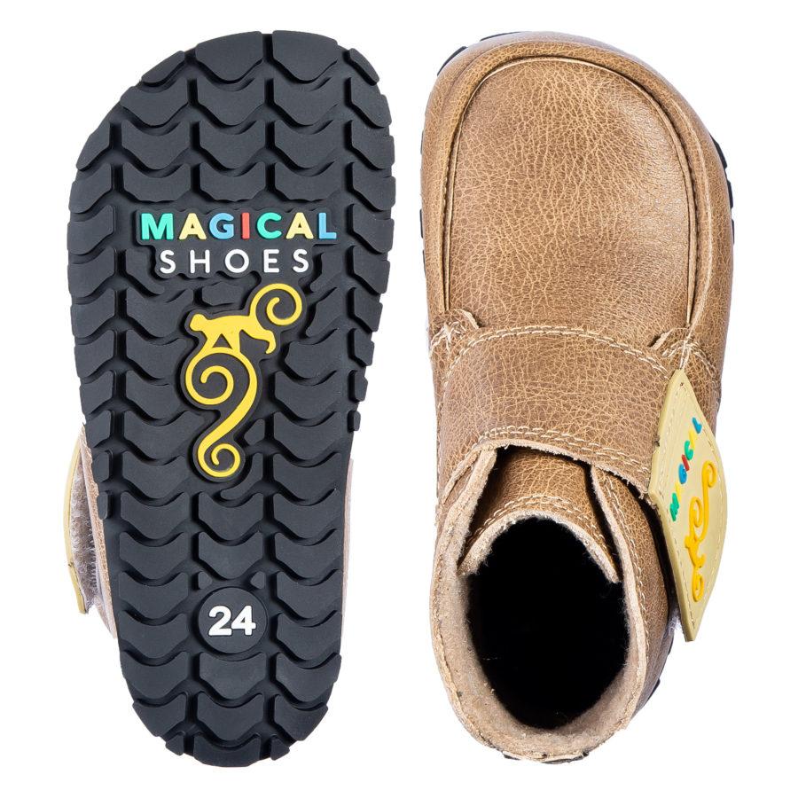 Zdrowe buty dziecięce na jesień - szerokie w palcach - Magical Shoes TupTup