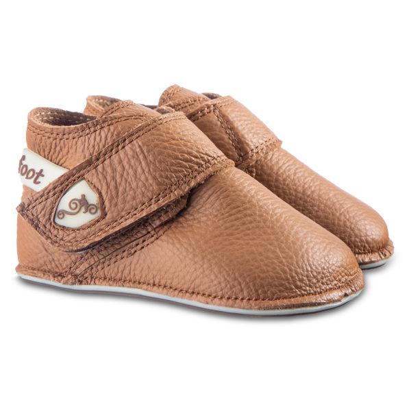 Dziecięce buciki na rzepy - w wydaniu barefoot - Magical Shoes Baloo