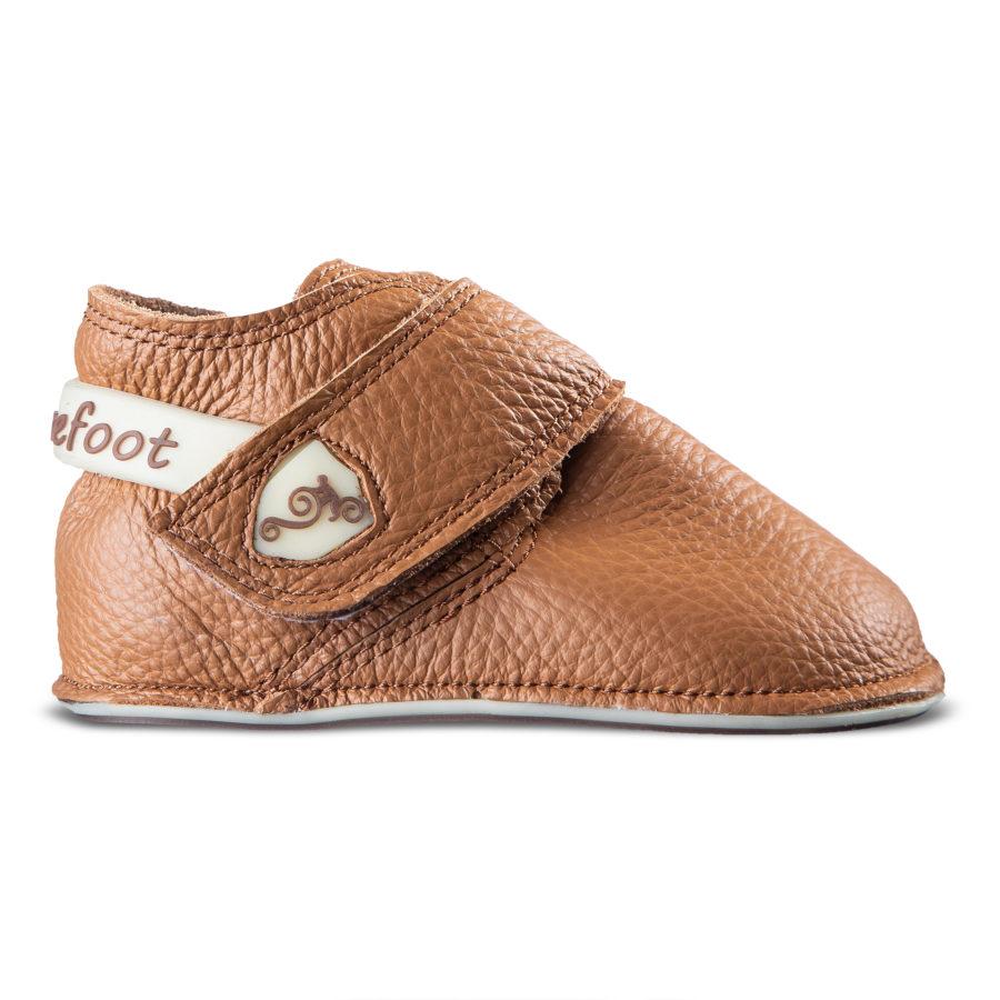 Brązowe buty minimalistyczne dla dziecka - Magical Shoes Baloo