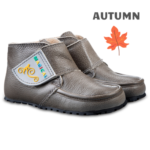Barfuß Kinderstiefel für Herbst - Magical Shoes TUPTUP