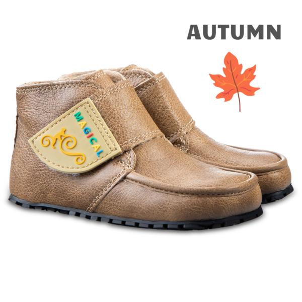 Kinder Barfußstiefel für den Herbst - Magcial Shoes TUPTUP